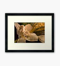Ribbon Rose Framed Print
