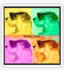 Doggo Dayan album cover Sticker