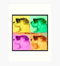 Doggo Dayan album cover Art Print