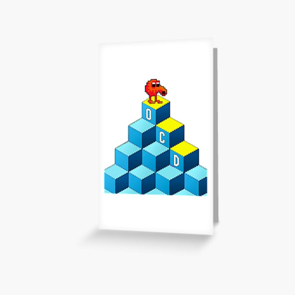 OCD Greeting Card