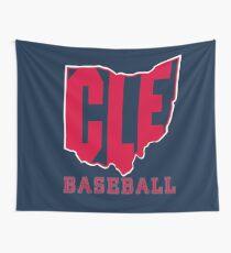 CLE Baseball Wall Tapestry