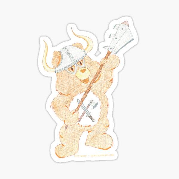 Warriorsounours Sticker