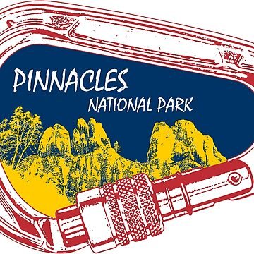 Pinnacles National Park Climbing Carabiner by esskay