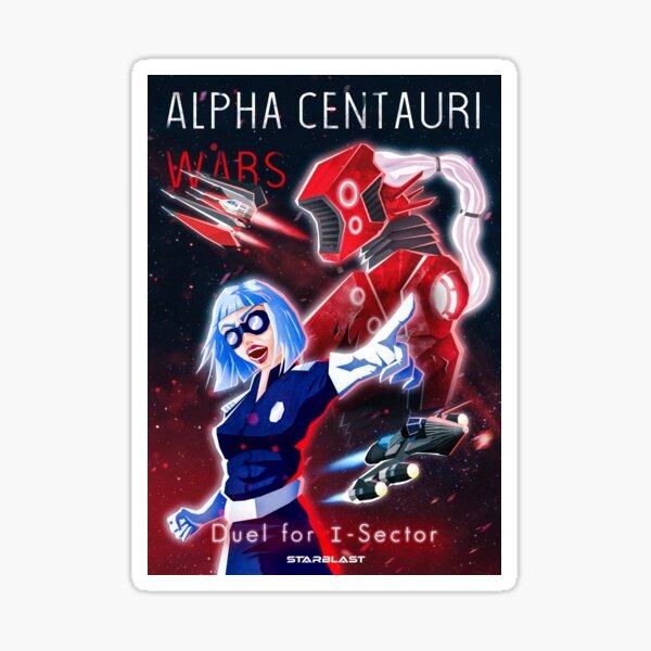 Alpha Centauri Wars - Duel du secteur I Sticker
