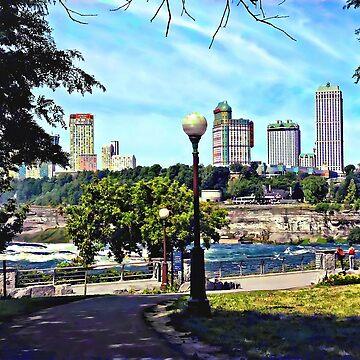 Niagara Falls NY - View from Niagara Falls State Park by SudaP0408