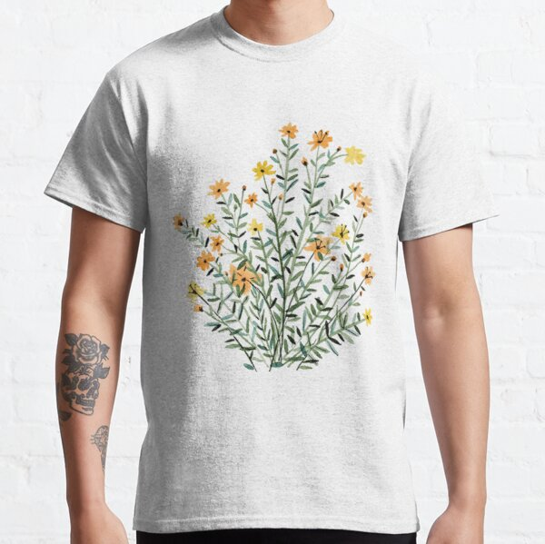 gelbe blumige Sonnenblume Classic T-Shirt