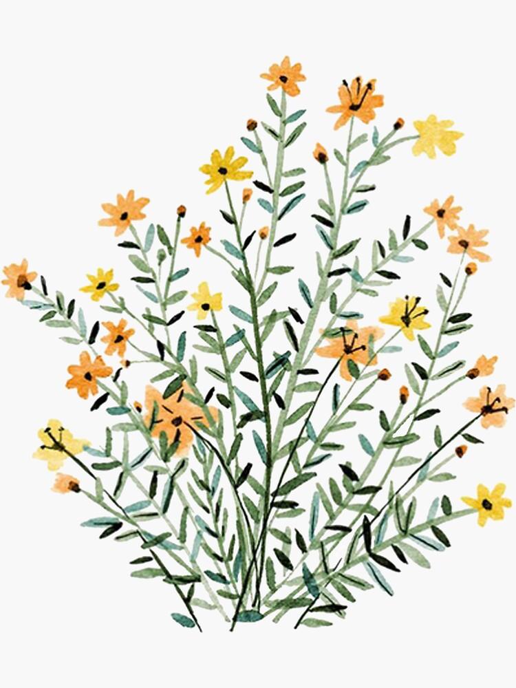 «fleur de soleil floral jaune» par islandinthesun