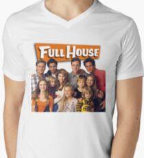 Full house case Men's V-Neck T-Shirt