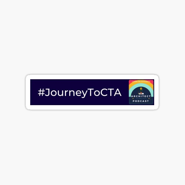 Journey to CTA Podcast Sticker