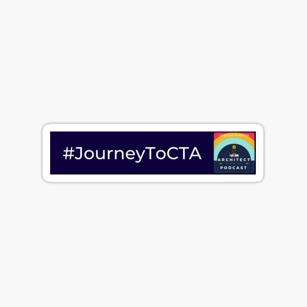 Journey to CTA Podcast Sticker