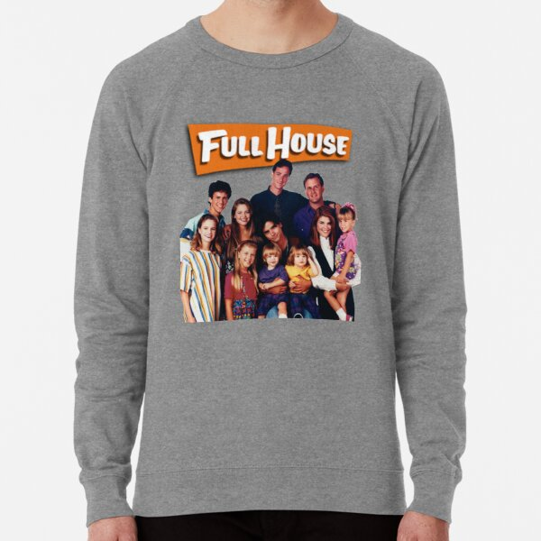 full house cast Lightweight Sweatshirt
