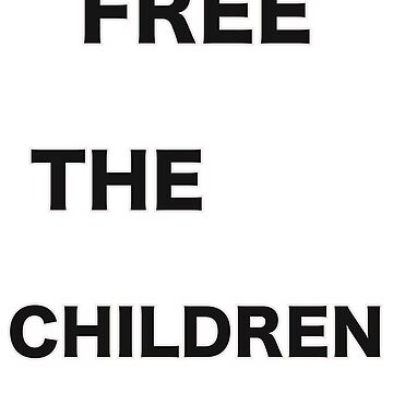 Free the Children Anti Trump Anti Separation Men's Ladies  by tinoriccio