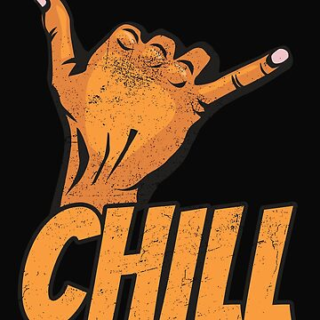 Chill and Hang Loose: The Shaka Sign by friendlyspoon