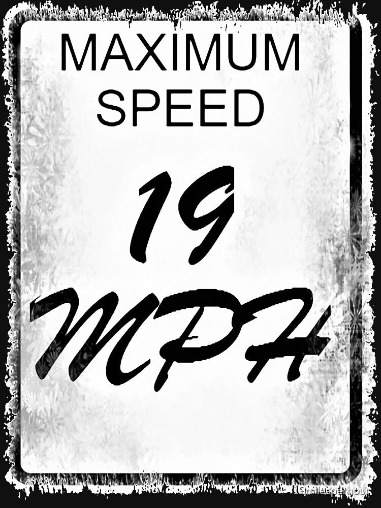 19 MPH Logo (Black & White) by 19milesperhour