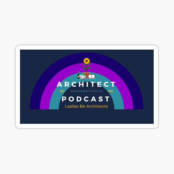 Architect Podcast - Rainbow Sticker