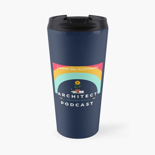 Podcast Logo Travel Mug
