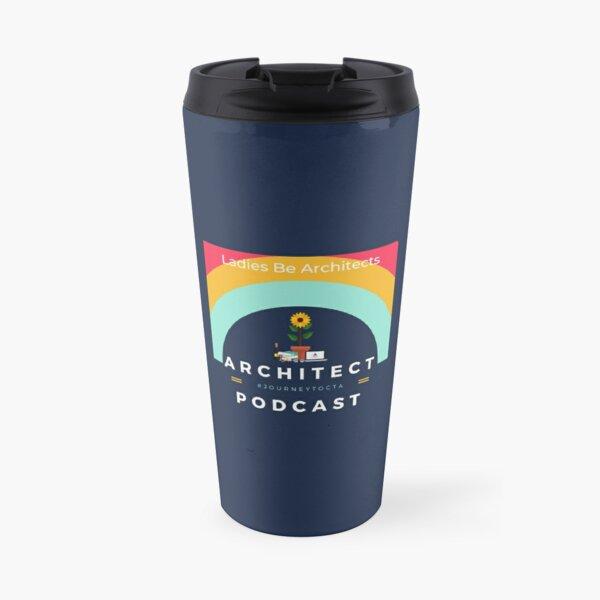 Podcast Logo Travel Mug