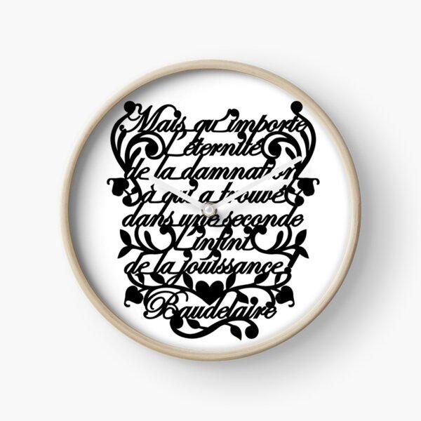 Classics are Cool: Baudelaire Reloj