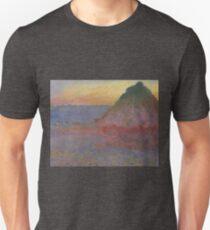 Grainstack von Claude Monet Slim Fit T-Shirt