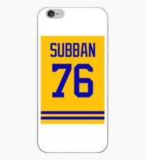 Subban jersey iPhone Case