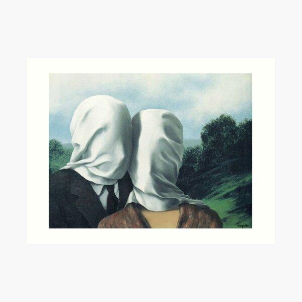 René Magritte - Los amantes II Lámina artística