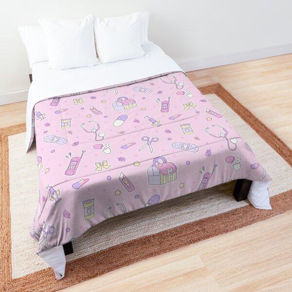 emotional - pink \ yellow Comforter