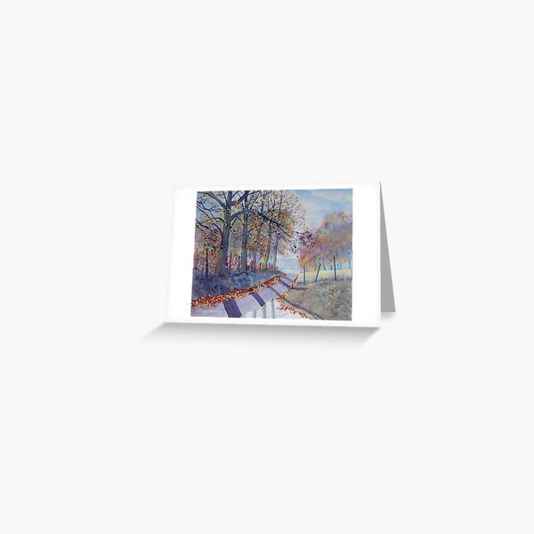 ABSOLUTELY AUTUMN – TROUTSDALE Greeting Card