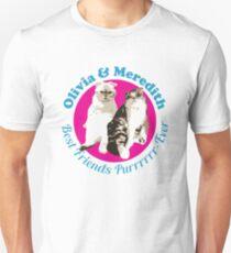 Olivia & Meredith Best Friends Purrrever Unisex T-Shirt