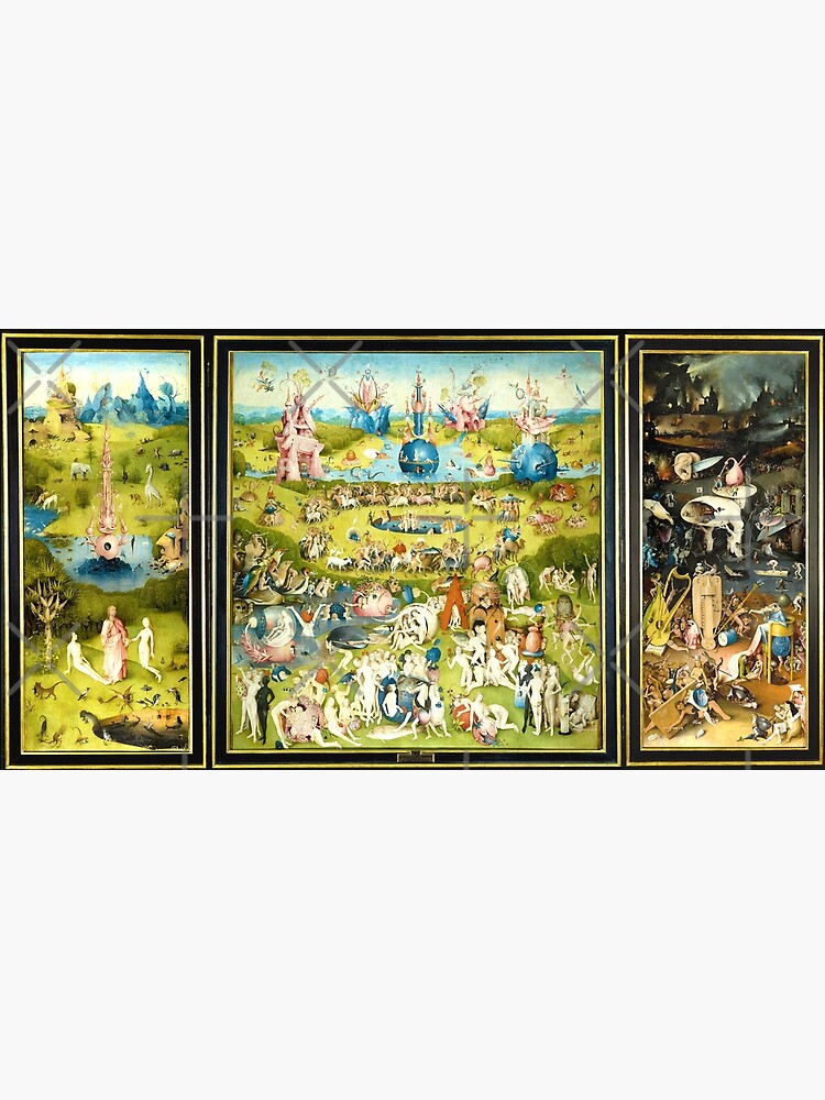 HD The Garden of Earthly Delights -FULL- by H. Bosch HIGH DEFINITION + original colors by mindthecherry