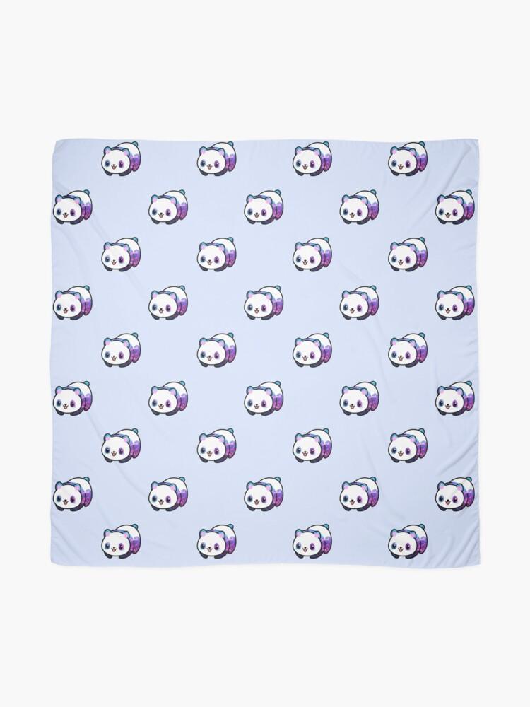 Vista alternativa de Pañuelo Patrón Kawaii Galactic Mighty Panda