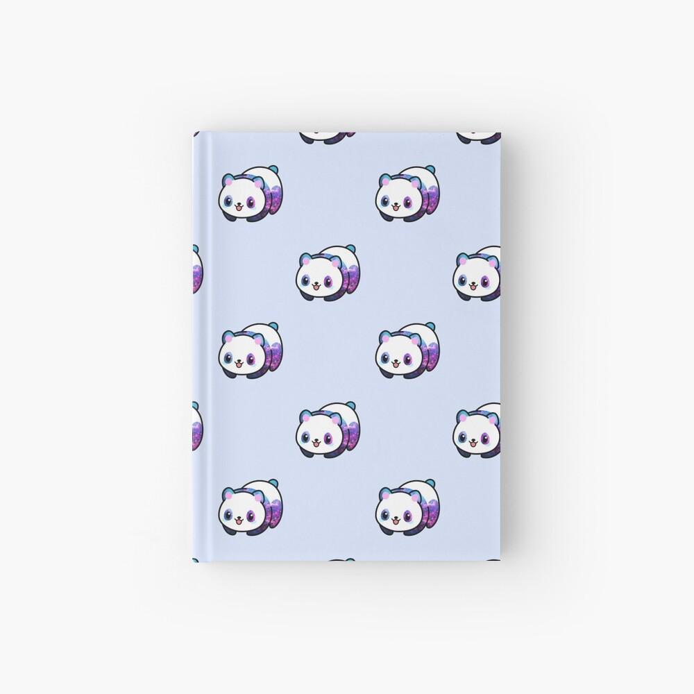 Patrón Kawaii Galactic Mighty Panda Cuaderno de tapa dura