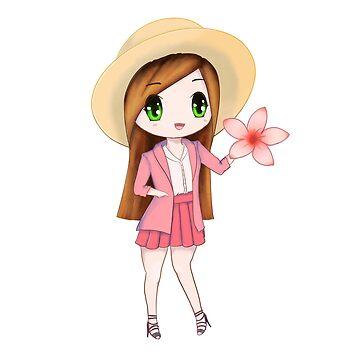Sakura girl by CreatedByFran