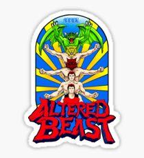 ALTERED BEAST - TRANSFORMATION Sticker