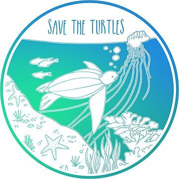 ¡Salva a las tortugas! de Chikagi