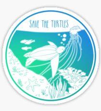 Save the Turtles! Sticker