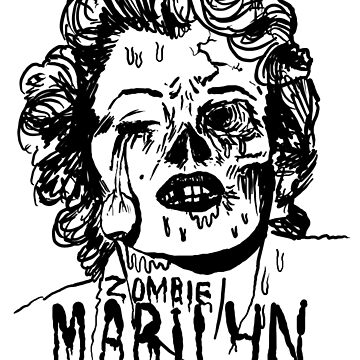 Zombie Marilyn by PottyScotty