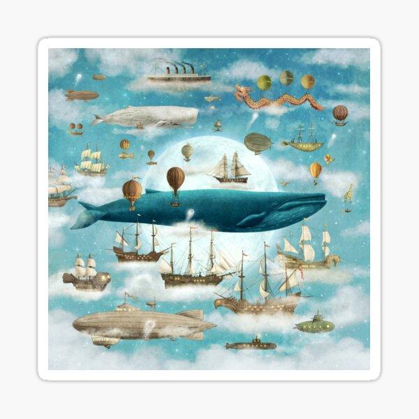 Ocean Meets Sky Sticker