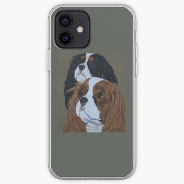 Cavalier King Charles Spaniels iPhone Soft Case
