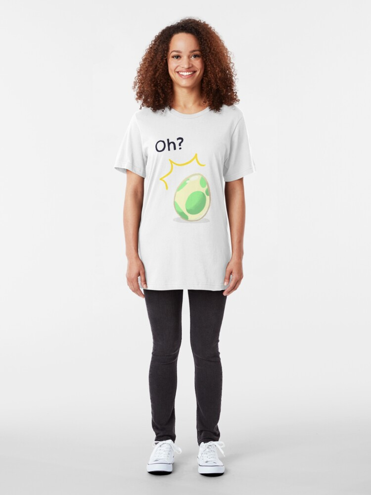 Alternate view of Egg Hatcher - 2km Slim Fit T-Shirt
