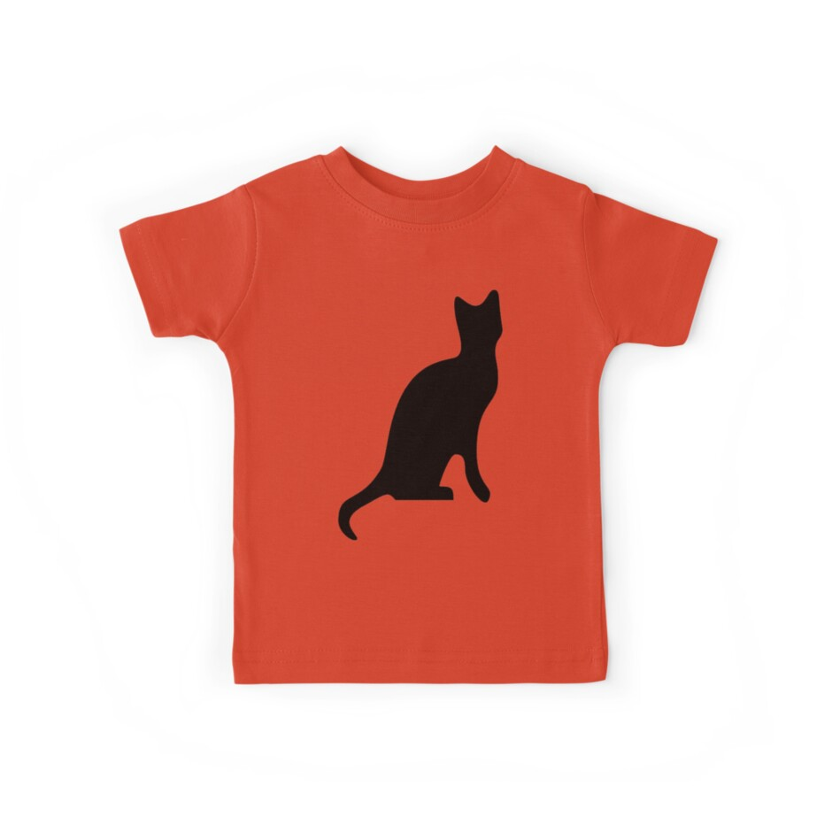 Halloween Black Cat Smooth Silhouette by taiche