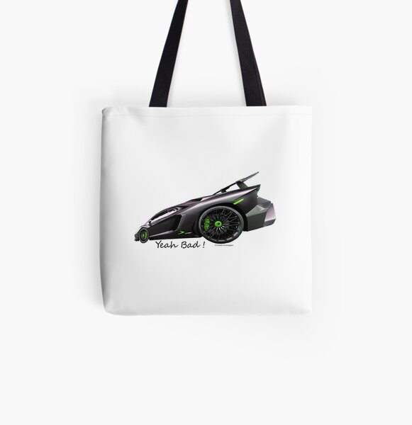 Imaginative Extreme Cars Art All Over Print Tote Bag