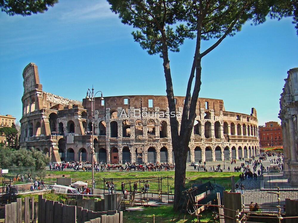 Roman Colosseum II by Al Bourassa