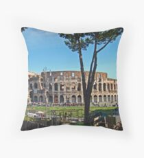 Roman Colosseum II Throw Pillow