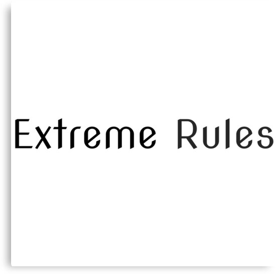 Extreme Rules by Simon-Peter