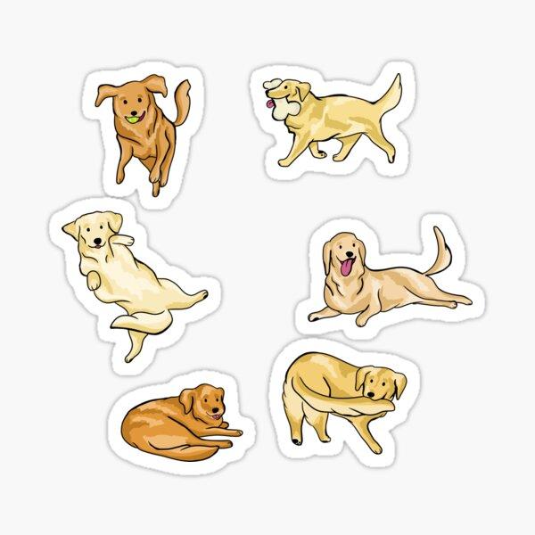 Golden Retrievers Sticker