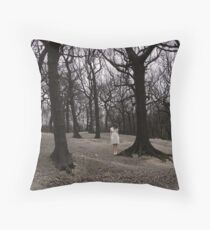 Lost in a forest of thoughts. Throw Pillow