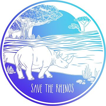 ¡Salva a los rinocerontes! de Chikagi