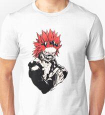 Camiseta ajustada Red Riot/ Kirishima/Alboroto Rojo