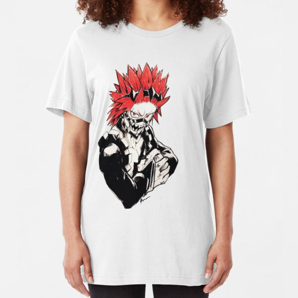 Red Riot/ Kirishima/Alboroto Rojo Slim Fit T-Shirt