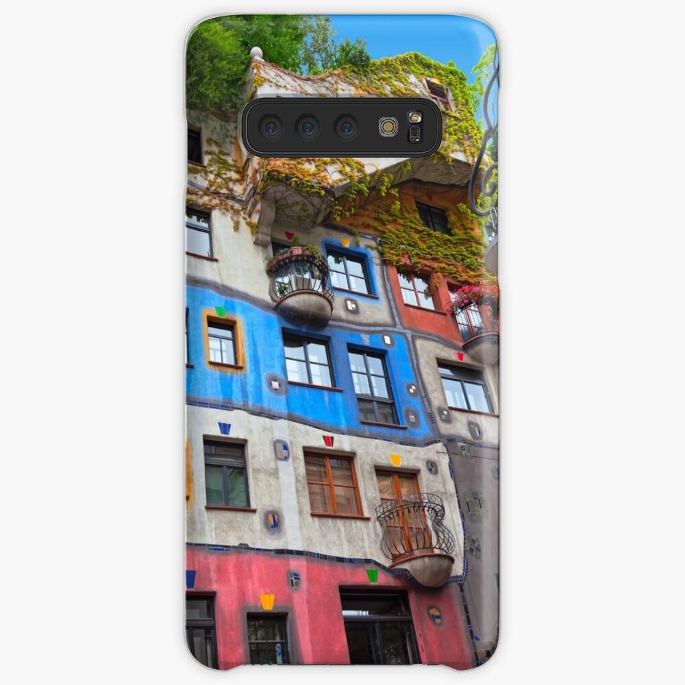 Hundertwasser House  in Vienna, Austria.  Case & Skin for Samsung Galaxy